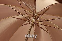 Antique 18k Gold Plated Umbrella Marked by Tiffany&Co