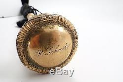 Antique Umbrella Gold Filled Handle engraved WITH MOTHER OF PEARL
