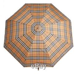 BURBERRY folding umbrella with vintage check pattern 40752861