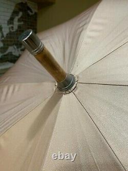 Maybach umbrella made by Dunhill with Chestnut handle extension