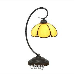 Tiffany Umbrella Table Lamp Vintage Reading Lamps Stained Glass Desk Light TL146