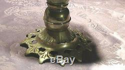 VINTAGE 1950cUNIQUE FRENCH SILVERED BRASS, 8 POSEIDON HEADS UMBRELLA STAND HOLDER