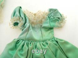 Vintage 1950's Mary Hoyer Southern Belle Gown Dress & Parasol Umbrella 14 Doll