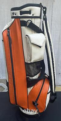Vintage Belding Hooters Golf Bag WithHead Covers, Umbrella &Tees RARE