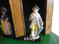 Vintage Chad Valley Wooden Toy Kendall Weather House Advertising Umbrellas